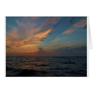 Dramatic Sky Greeting Card