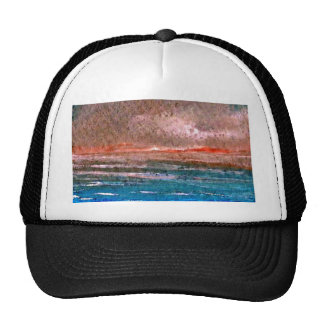 Dramatic Soft Light Ocean Art Designer Products Trucker Hat