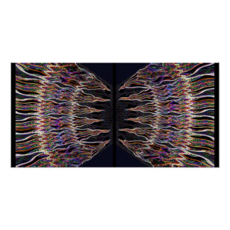 Dramatic Sparkling Dome Patterns 2 Posters