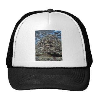 Dramatic Stone Face Trucker Hat