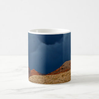 DRAMATIC STORM CLOUDS OVER HIGH DESERT COFFEE MUG