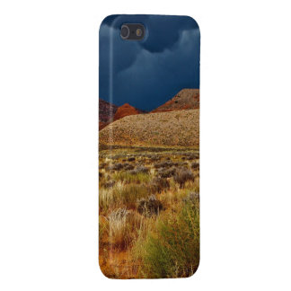 DRAMATIC STORM CLOUDS OVER HIGH DESERT iPhone SE/5/5s COVER