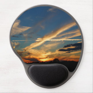 Dramatic Sunset Gel Mouse Pad