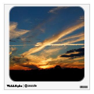 Dramatic Sunset Wall Sticker