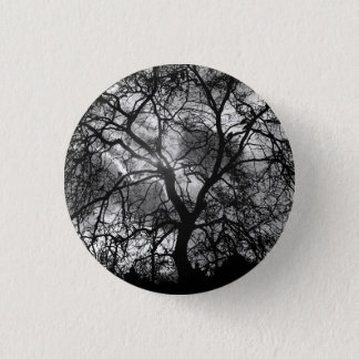 Dramatic Tree Silhouette Button