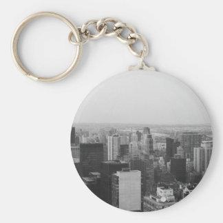 Dramatic view of Manhattan Keychain