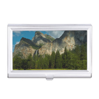 Dramatic View Of Yosemite Valley From The Gates Case For Business Cards