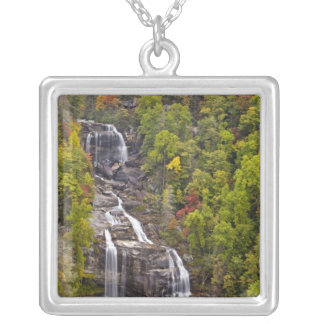 Dramatic Whitewater Falls in autumn in the Custom Jewelry