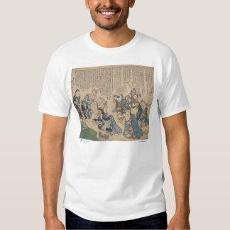 Dramatización de la camiseta de las partes del remera