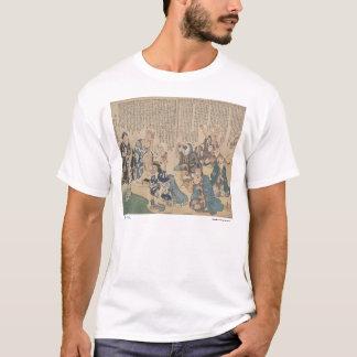 Dramatization of body parts t-shirt