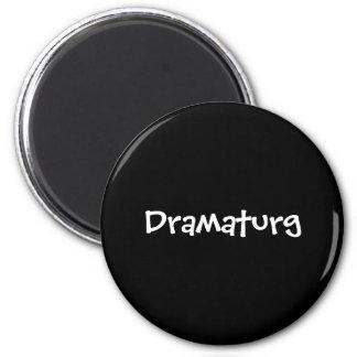 Dramaturg 2 Inch Round Magnet