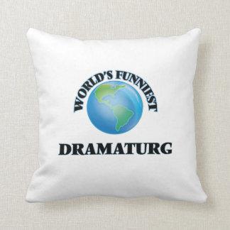 Dramaturg más divertido del mundo almohada