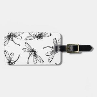 Drangonflies Bag Tag