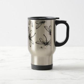Drangonflies Travel Mug