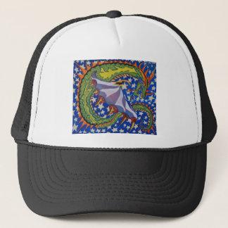 Draon in the Stars Trucker Hat