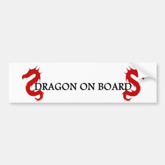 Draon Keeper Bumper Sticker