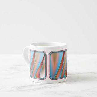 Drape Pattern Espresso Cups