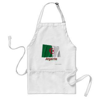 Drapeau Algérie avec le nom en français Apron