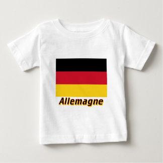 Drapeau Allemagne avec le nom en français Shirt