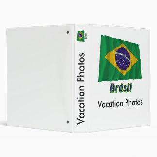 Drapeau Brésil avec le nom en français Binders