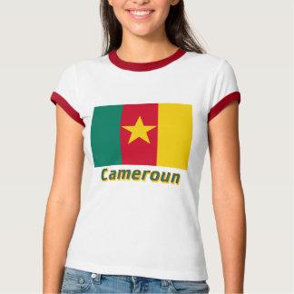 Drapeau Cameroun avec le nom en français T-Shirt