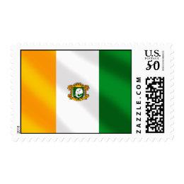 Drapeau de la Côte d'Ivoire 2010 gifts Postage