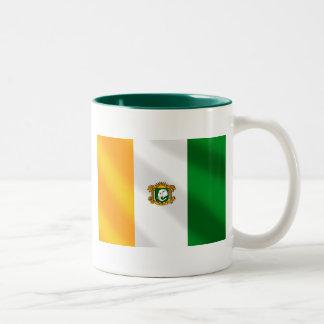 Drapeau de la Côte d'Ivoire 2010 gifts Two-Tone Coffee Mug
