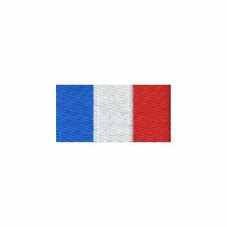 Drapeau de la France à capuche - Allez Les Bleus! Embroidered Hooded Sweatshirt