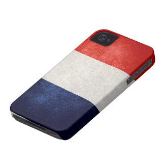 Drapeau de la France iPhone 4 Case-Mate Case