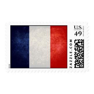 Drapeau de la France Postage Stamp