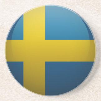 Drapeau de la Suède Dessous De Verre