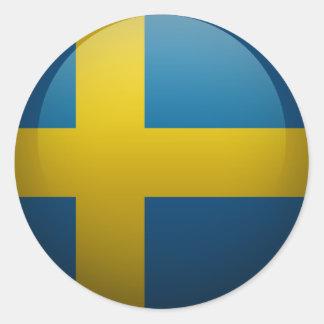 Drapeau de la Suède Autocollants