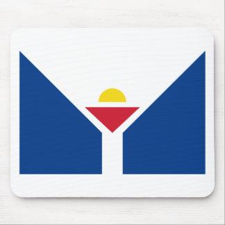 Drapeau de Saint Martin - Flag of Saint Martin Mouse Pad