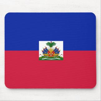 Drapeau d'Haïti - Flag of Haiti Mouse Pad