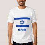 Drapeau Israël avec le nom en français Shirt