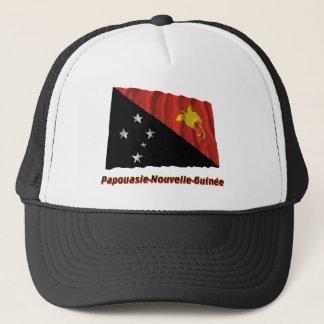 Drapeau Papouasie-Nouvelle-Guinée nom en français Trucker Hat