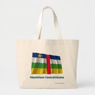 Drapeau République centrafricaine nom en français Jumbo Tote Bag