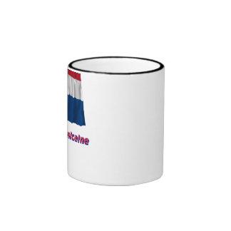 Drapeau République dominicaine nom en français Ringer Mug