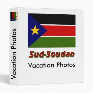 Drapeau Sud-Soudan 3 Ring Binders
