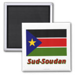 Drapeau Sud-Soudan Refrigerator Magnets