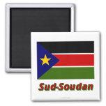 Drapeau Sud-Sudán Imanes De Nevera