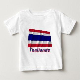 Drapeau Thaïlande avec le nom en français Baby T-Shirt
