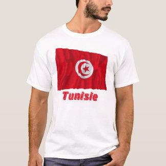 Drapeau Tunisie avec le nom en français T-Shirt