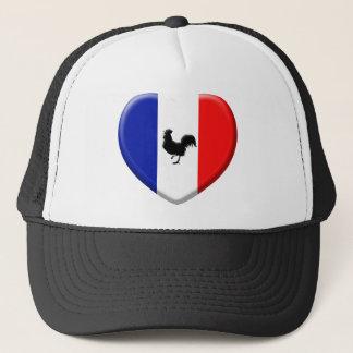 Drapeaux France coils cock Trucker Hat