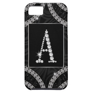 Draped In Diamonds - Initial A iPhone 5 Covers