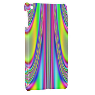 Draped Rainbows Fractal iPad Mini Covers