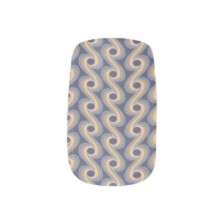Draped Volute Ocean Minx® Nail Wraps