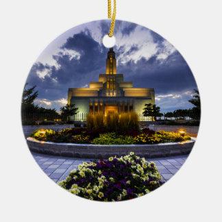 Draper Mormon Lds Temple - Utah Ceramic Ornament