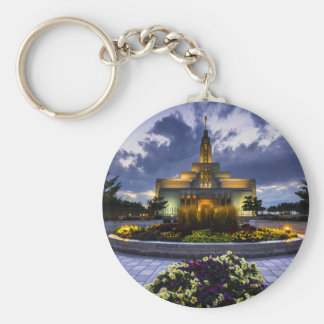 Draper Mormon Lds Temple - Utah Keychain
