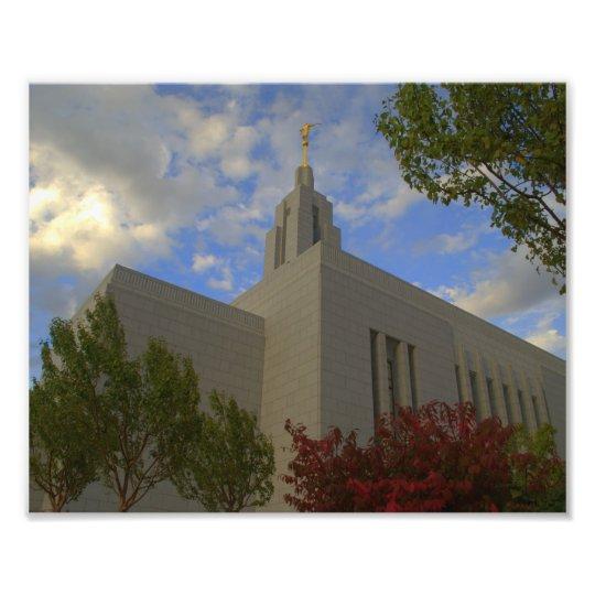 Draper Utah LDS Temple Photo Print